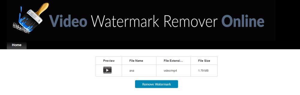 Rimozione di video Watermark Remover Online