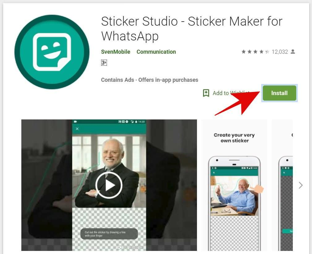 Sticker Studio on the Google Play Store