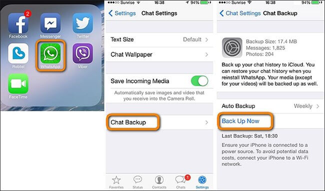 how to transfer whatsapp backup from icloud to android