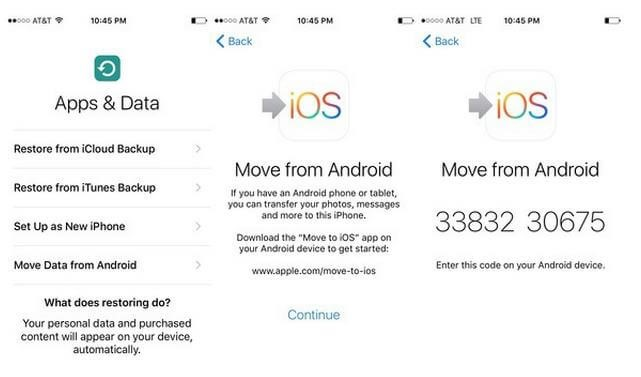 does move to ios transfer whatsapp